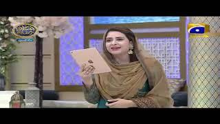 Geo Ramzan Iftar Transmission - Rabbi Zidni Ilma - 02 June 2019 - Ehsaas Ramzan