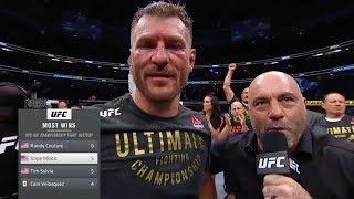 UFC 241: Миочич vs Кормье 2 - Слова после боя