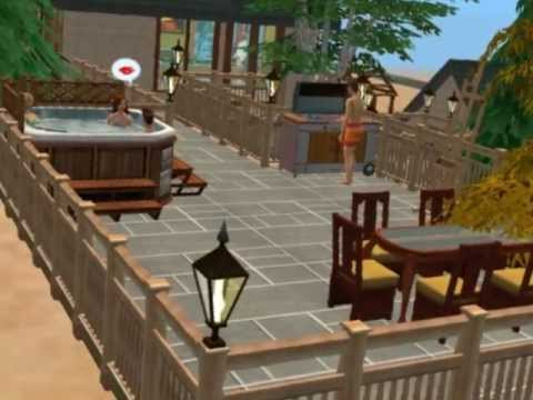 Waterside - Sims 2 House