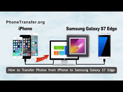 How to Transfer Photos from iPhone to Samsung Galaxy S7 Edge, Copy iPhone 6 Pictures to Galaxy S7