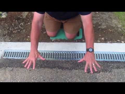 Install a Trench Drain Video 7 of 7