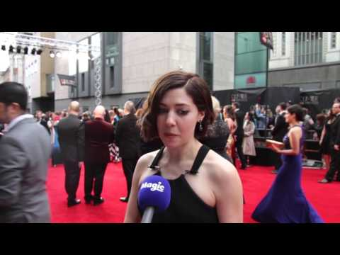 Catherine Steadman at the Olivier Awards 2016 Red Carpet