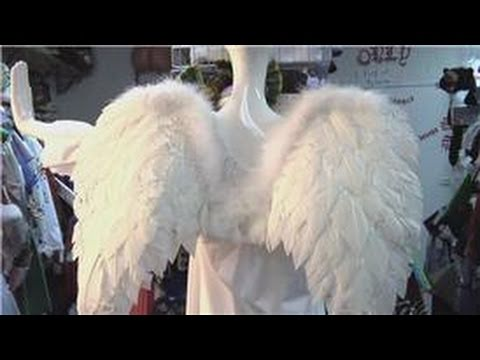 Costumes & Halloween : How to Make an Adult Angel Costume