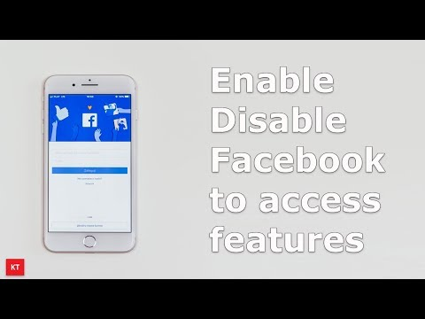 Enable or disable Facebook to access certain features in android phone (Samsung)