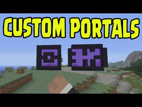 Minecraft PS3, PS4, Xbox, Wii U - CUSTOM NETHER PORTALS (Title Update TU31 / 1.8)
