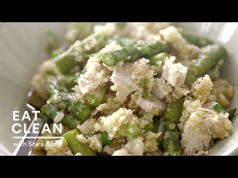 One-Pot Warm Quinoa Chicken Salad - Eat Clean with Shira Bocar