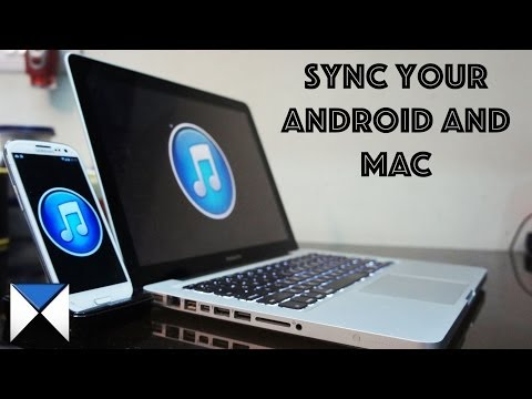 How to Sync iTunes Library and Playlists Mac to Android (via USB)