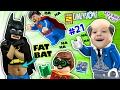 FAT LEGO BATMAN? Movie Game! Alfred Shrinks Bat Suit (Let ...