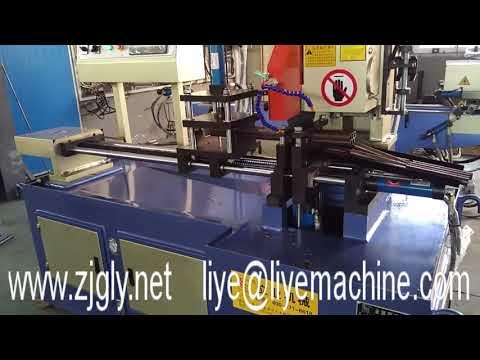 YJ355CNC copper tube cutting machine,pipe circular sawing machine,aluminum pipe saw machine