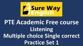 PTE Listening: Multiple Choice, Choose Multiple Answers | PTE Every