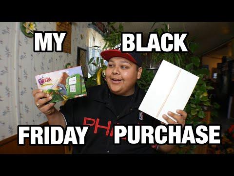 What I Got For Black Friday