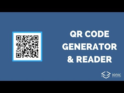 Ionic QR Code Generator & Reader