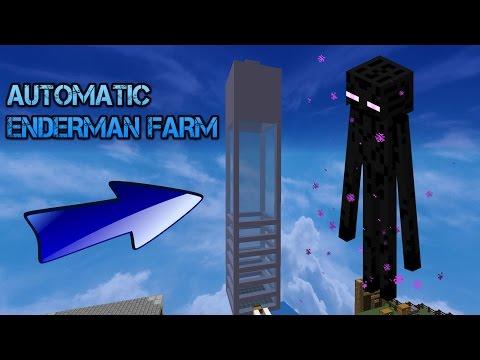 AUTO ENDERMAN FARM 1.10!!!!! SKYBLOCK #4