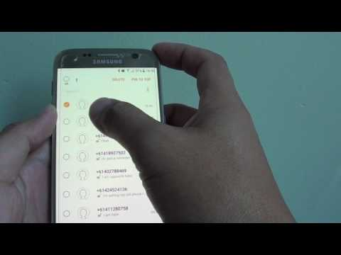 Samsung Galaxy S7: How to Delete Old Text Messages
