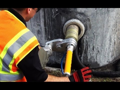 CORE EZ Saw w/  K50 Slurry Rings - Reduces Exposure to Silica and Slurry Waste - Smart HVAC Products