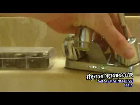 How To Stop Faucet Leaking From The Handle And Drips From The Spout Tap