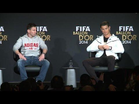 Ballon d'Or 2014: Ronaldo et Messi prudents quant à leur avenir