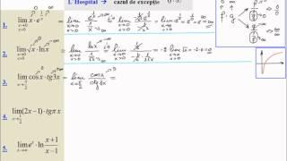 Limite de functii, regula lui L'Hospital (lic_h13) - PakVim