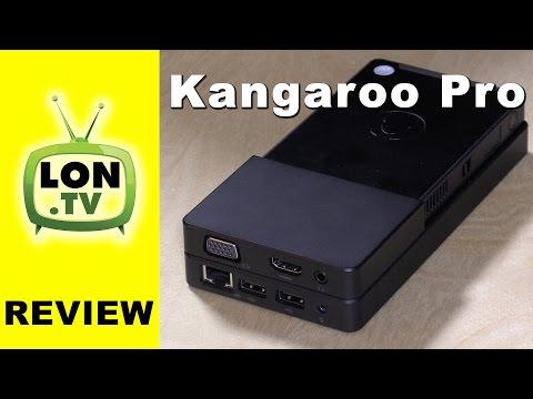 Kangaroo Pro Review - $199 Windows 10 Mini PC with Ethernet, VGA, SATA Dock
