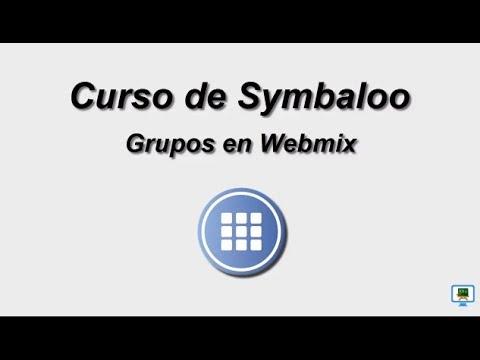 CURSO DE SYMBALOO (2017)   4 .1c GRUPOS EN WEBMIX (HD)