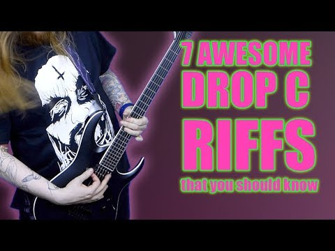 7 Drop C Guitar Riffs Every Guitarist Should Know