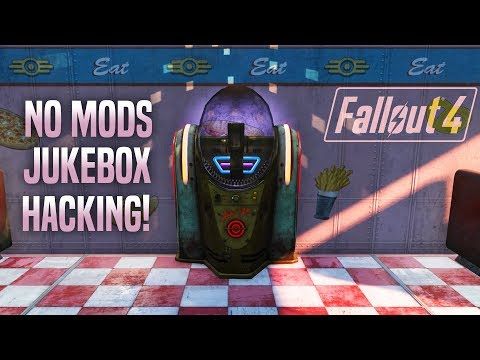 Make Those Jukeboxes Play Rock! 🎶 Fallout 4 No Mods Shop Class