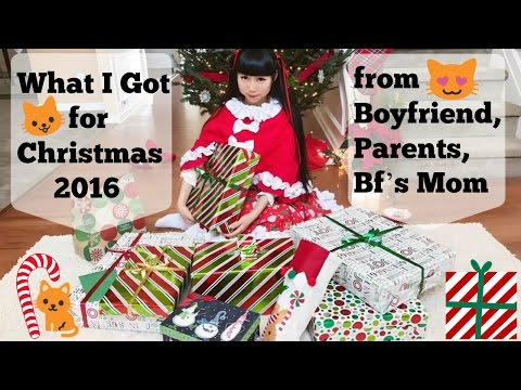 what i got for christmas from boyfriend parents bfs mom 2016