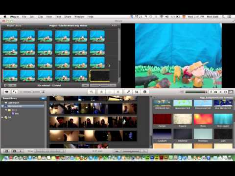 How to Make a Stop Motion Film in iMovie