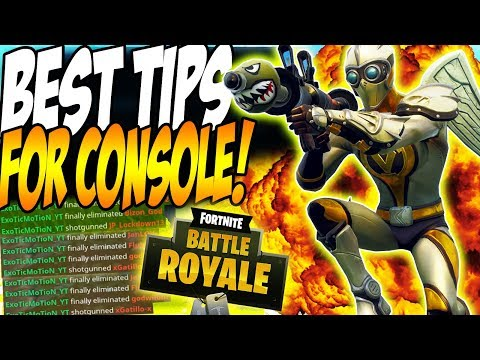 FORTNITE BEST TIPS FOR CONSOLE PLAYERS!! |