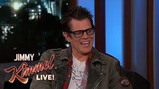 Johnny Knoxville on Son