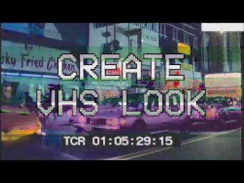 Create VHS Look in Final Cut Pro X