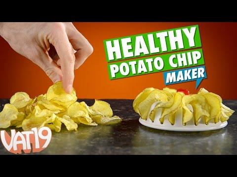 DIY Healthy Potato Chips