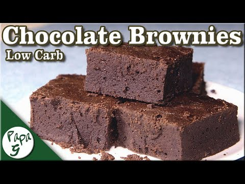 Soft and Moist Low Carb Chocolate Brownies – Very Easy Keto Brownies