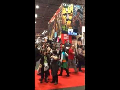 Marvel Stage of NYC Comic Con 2014!