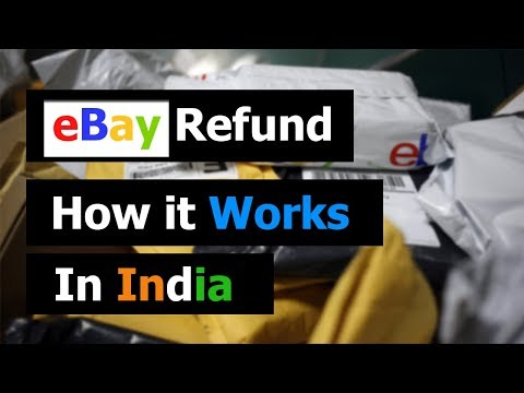 eBay Refund - How it works in India
