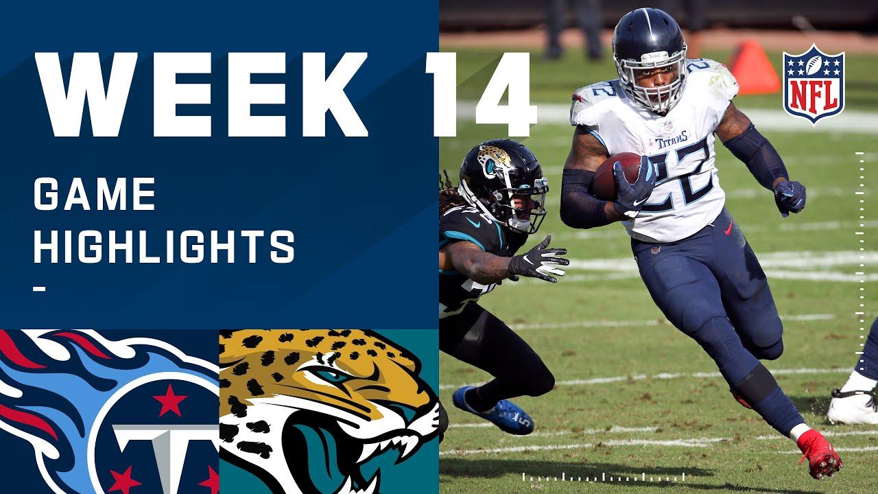 Titans vs. Jaguars Week 14 Highlights | NFL 2020
