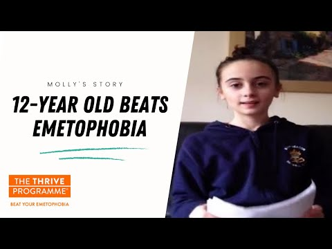 Emetophobia Cured! Molly - age 12 - cures herself of emetophobia. www.emetophobia.co.uk
