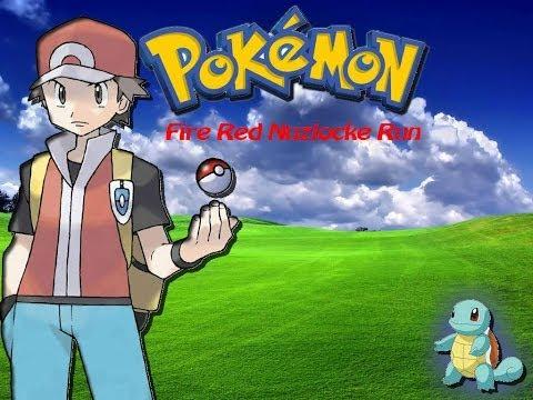 Pokemon Fire Red Nuzlocke Run ep.1