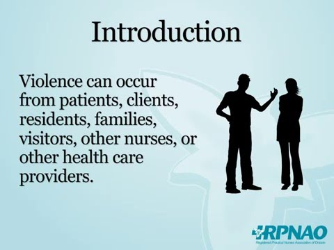 Workplace Violence Prevention - Introduction