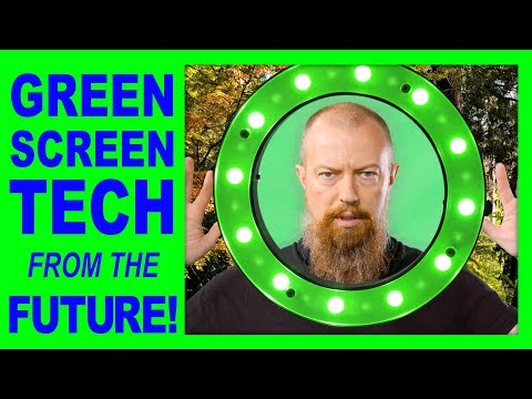 Reflecmedia Chromakey Solution ► Green Screen Tech FROM THE FUTURE!