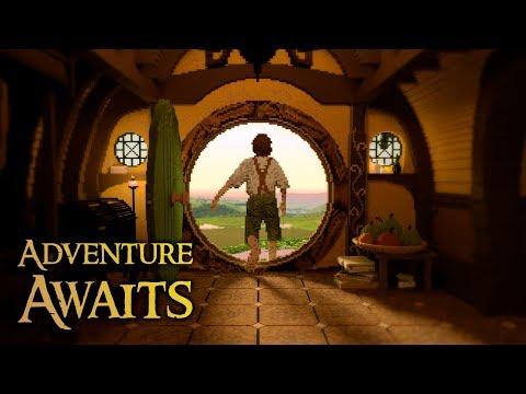 Adventure Awaits | The Hobbit | Minecraft Timelapse