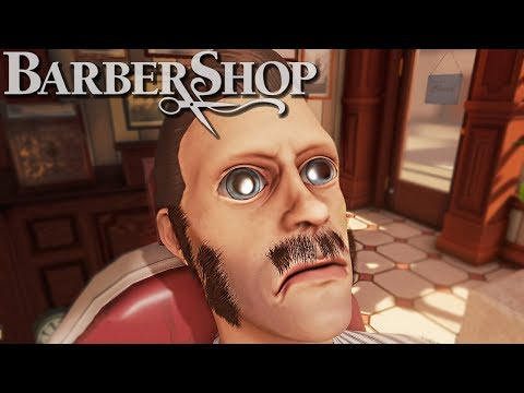 The Barber Shop Simulator - IM GETTING FIRED