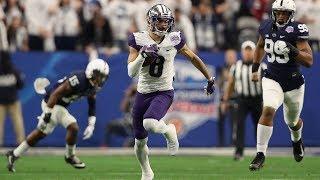Penn State Defeats Washington on Dante Pettis Interception | 2017 Fiesta Bowl