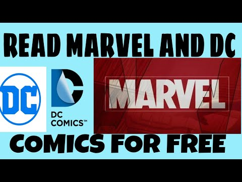 HOW TO DOWNLOAD MARVEL AND DC COMICS FOR FREE