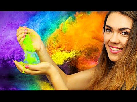 DIY Eatable Holi Colored Powder