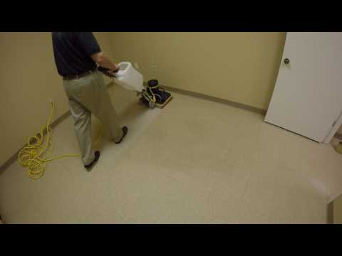 Stripping Wax off a Breakroom Floor Without Chemicals