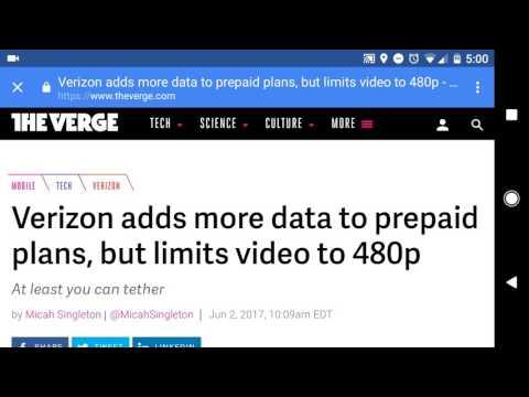 Verizon prepaid changes
