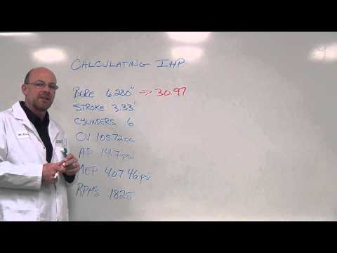Calculating Indicated Horsepower   Part 1
