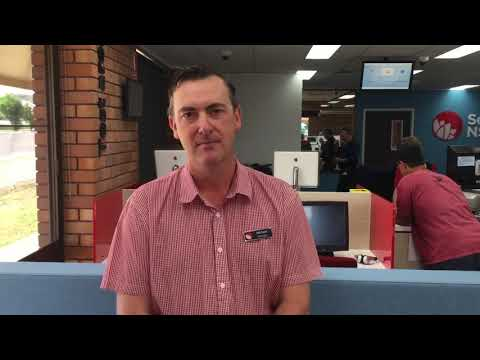 Services NSW opening