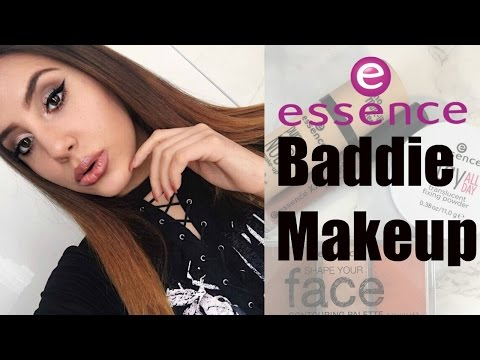 Affordable BADDIE MAKEUP (Only using Essence Products)